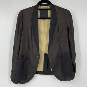 Robert Rodriguez 100% Silk Blazer Jacket